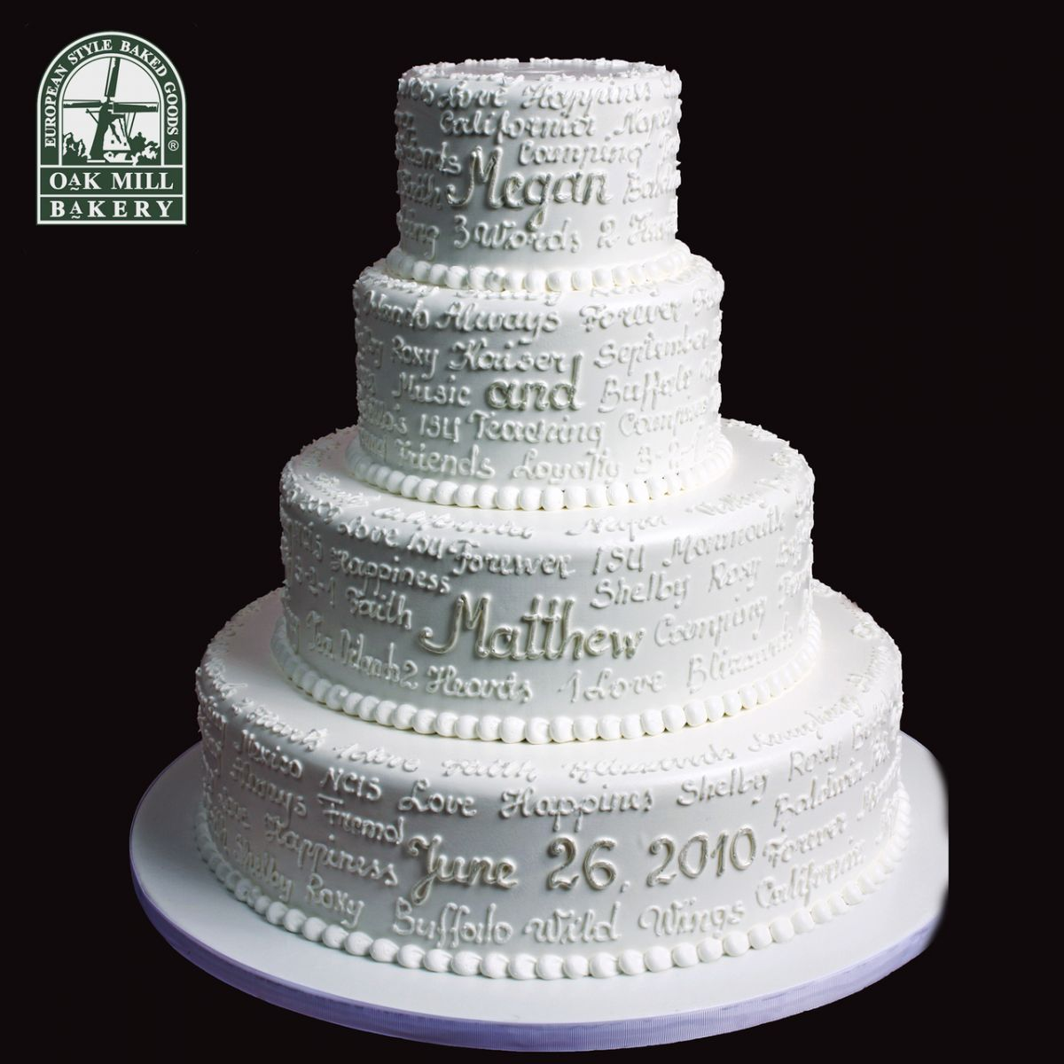 18 wedding cake designs to steal - Retro decor is making a huge comeback dont be left behind ...
