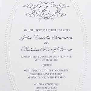 And Beautiful Wedding Invitations For Free Monogram Wedding Design - Pre wedding invitation templates