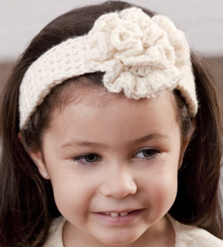 Crochet Headbands For Girls
