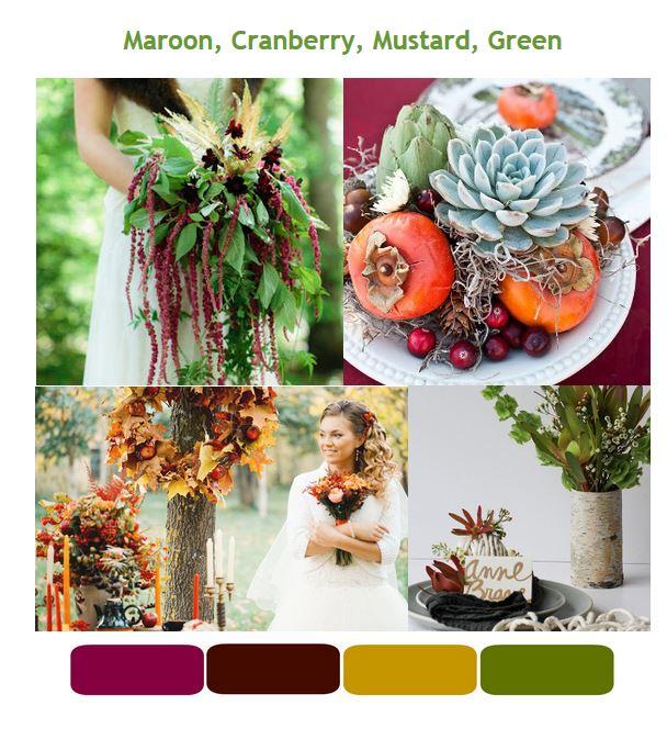 Kelly Green Wedding Color Schemes Wedding Color Schemes