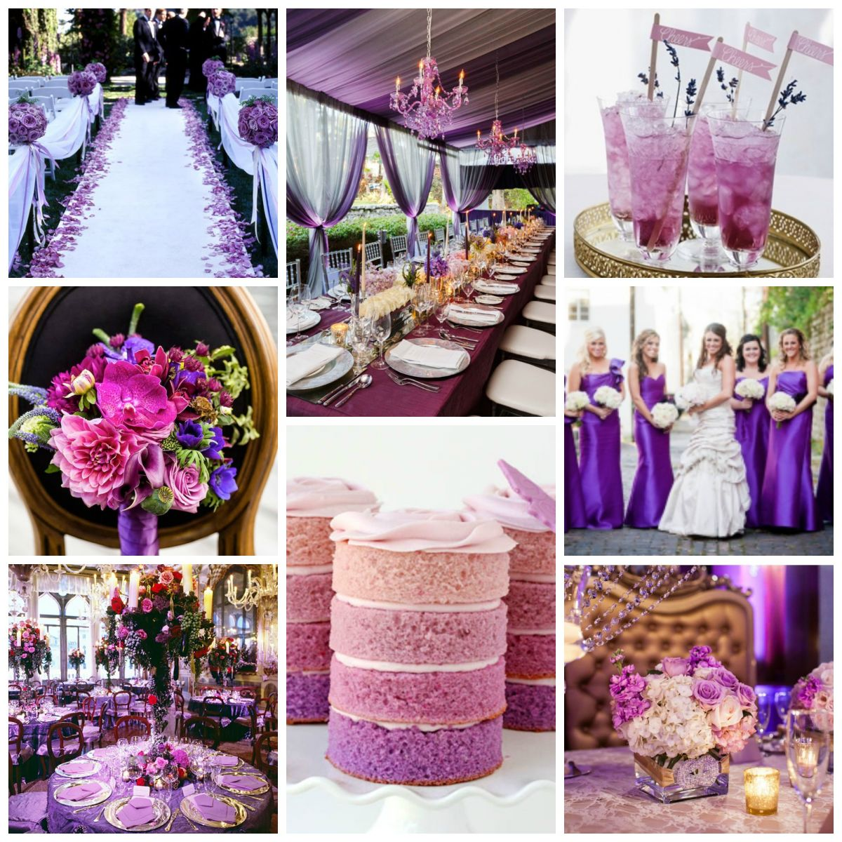 Top Wedding Color Schemes For 2015
