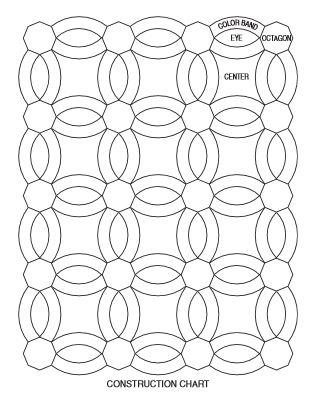 crocheted wedding ring quilt allfreediyweddingscom crochet pattern for double - Double Wedding Ring Quilt Pattern