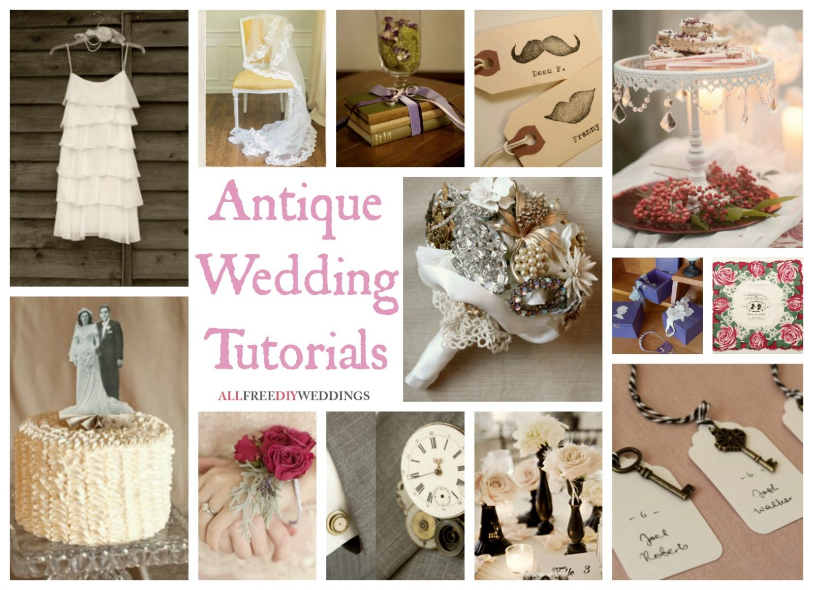 Wedding themes antique wedding for Vintage theme ideas
