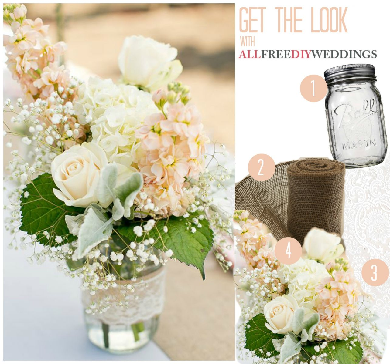 8 DIY Mason Jar Centerpieces Youll Love