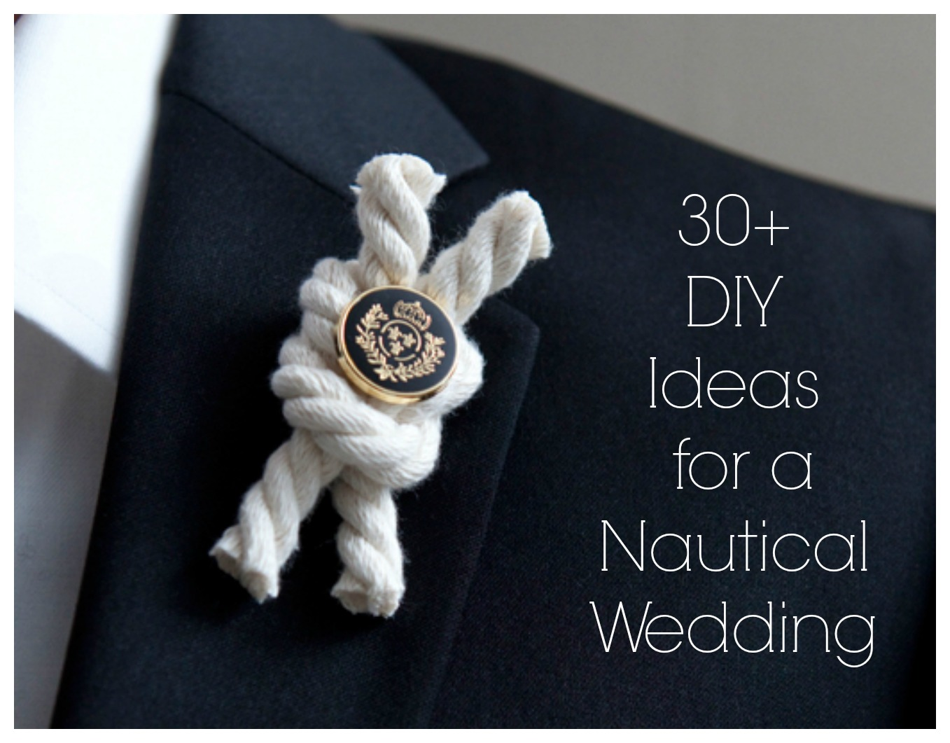 nautical wedding Tropical Getaway: Nautical Wedding Inspiration